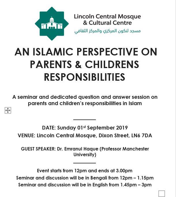 Lincoln Central Mosque & Cultural Centre